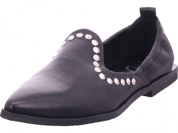 Mjus Damen Pumps flach Ballerina schwarz M33103-0101-6002