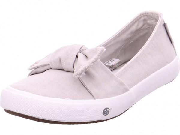 Dockers Sneaker Slipper Ballerina sportlich zum schlüpfen grau 42VE202790210