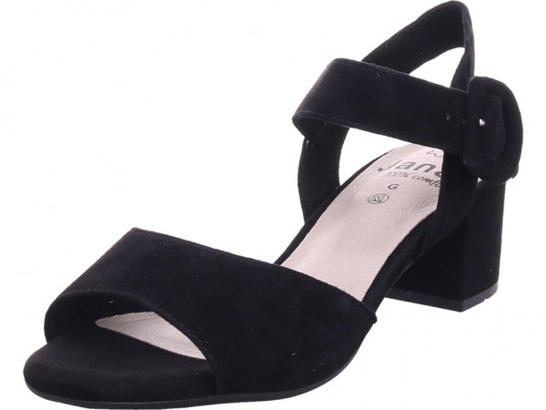 Jana Woms Sandals Damen Sandale Sandalette Sommerschuhe schwarz 8-8-28301-22/001-001
