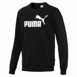 Puma ESS Logo Crew Sweat TR Herren schwarz 851750