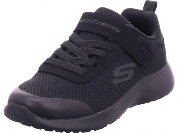 SKECHERS Jungen Sneaker schwarz 97770 BBK