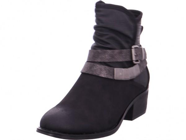 Rieker Damen Stiefel Stiefelette Boots elegant schwarz 98680-00