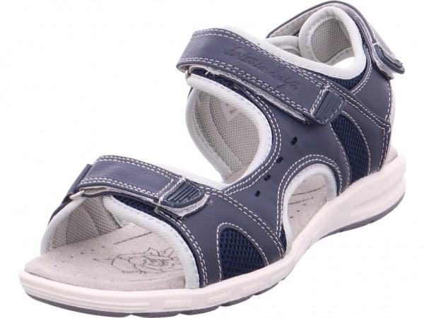 hengst Ladies Comfort Shoes Navy 40 Damen Sandale Sandalette Sommerschuhe blau 228000