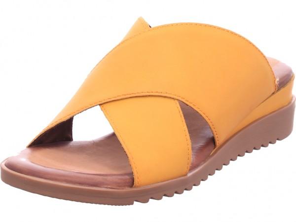 Jana Woms Slides Damen Pantolette Sandalen Hausschuhe Clogs Slipper gelb 8-8-27240-34/627-627