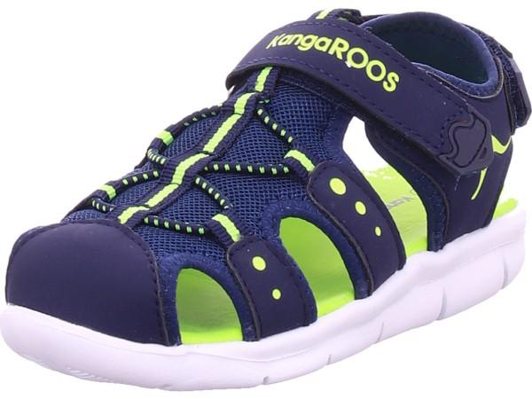 KangaRoos K-Mini Jungen Sandale Sandalette Sommerschuhe blau 02035/4054-4054