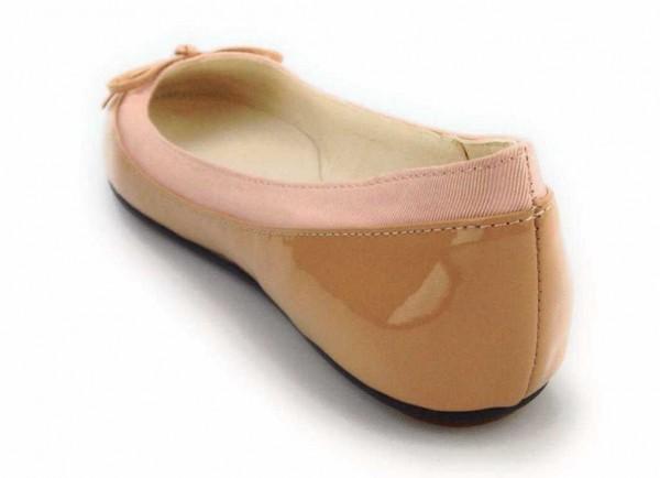 BUFFALO Damen Pumps flach Ballerina rot 207-3562