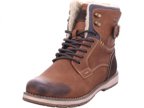 Montega Herren Stiefel Schnürstiefel warm sportlich Boots braun 162370024