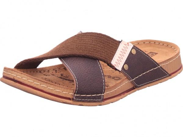 hengst Herren Pantolette Sandalen Hausschuhe braun C00214.211