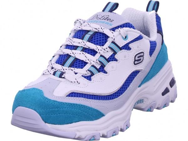 SKECHERS Damen Sneaker blau 13146 WBL