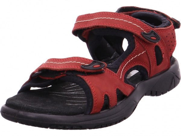 Quick-Schuh Beq-Sandl-Wörishf-30 Damen Sandale Sandalette Sommerschuhe rot 1000272/5
