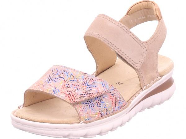 ara TAMPA Damen Sandale Sandalette Sommerschuhe beige 12-47209-86