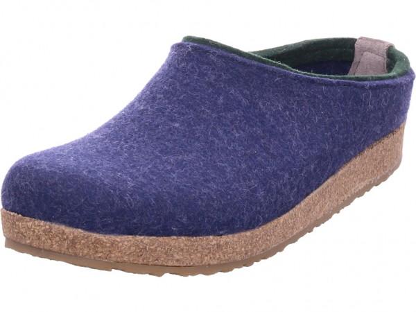 Haflinger Unisex - Erwachsene Pantolette Sandalen Hausschuhe blau 71105672