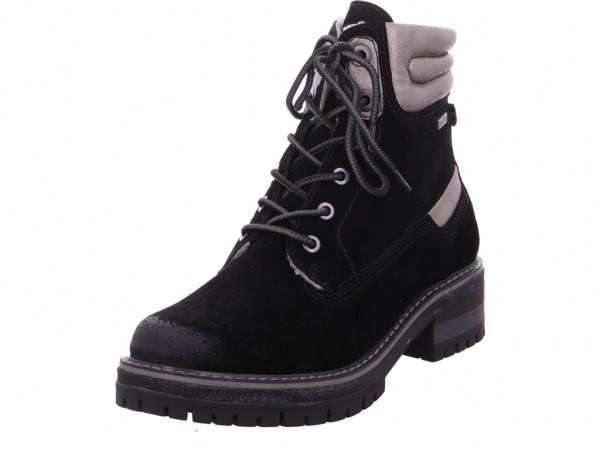 Jana Woms Boots Damen Stiefelette schwarz 8-8-26105-21/001-001