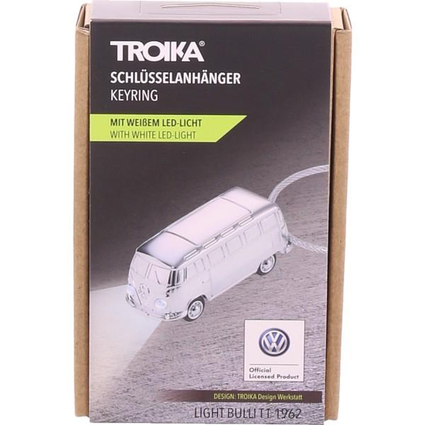 Troika Schlüsselanhänger + LED Licht Sonstige KR17-40/CH