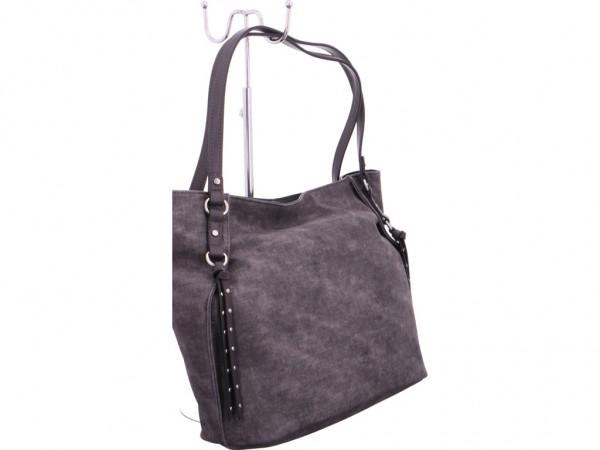 Tom Tailor Damen Tasche grau 24101 70