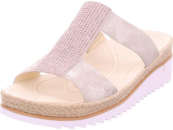 Gabor Damen Pantolette Sandalen Hausschuhe beige 43.720.62