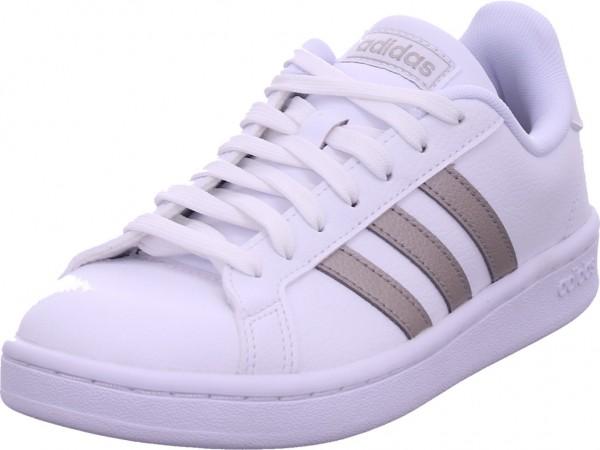 Adidas GRAND COURT,FTWWHT/PLAMET/FTWW Damen Sneaker weiß F36485
