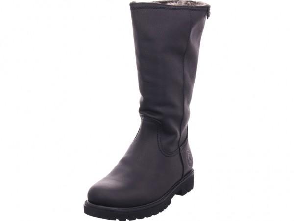 Panama Jack Damen Stiefel Schnürstiefel warm sportlich Boots schwarz Bambina B60 Napa Grass