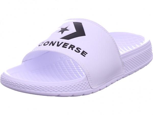 Converse All Star Slide Slip white Herren Pantolette Sandalen Hausschuhe weiß 171215C