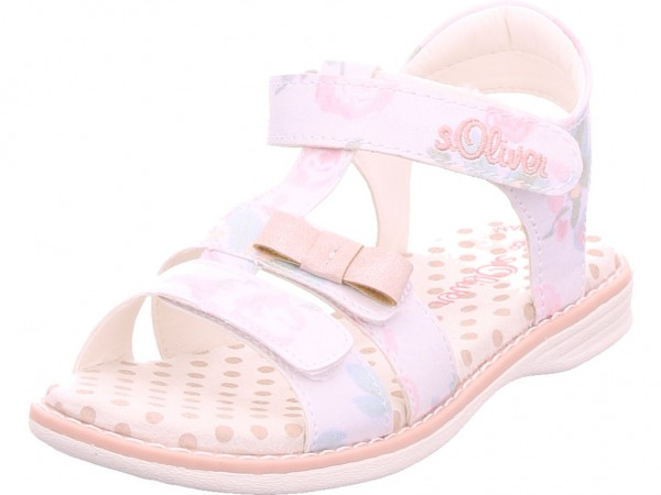 s.Oliver Kids Sandals Damen Sandale Sandalette Sommerschuhe weiß 5-5-38210-22/152-152