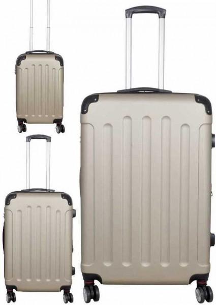 PM Euro- Trading GmbH ABS Kofferset 3 TLG. Unisex - Erwachsene Tasche Sonstige 37972