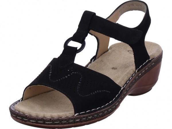 ara KEY WEST Damen Sandale Sandalette Sommerschuhe schwarz 12-37223-07