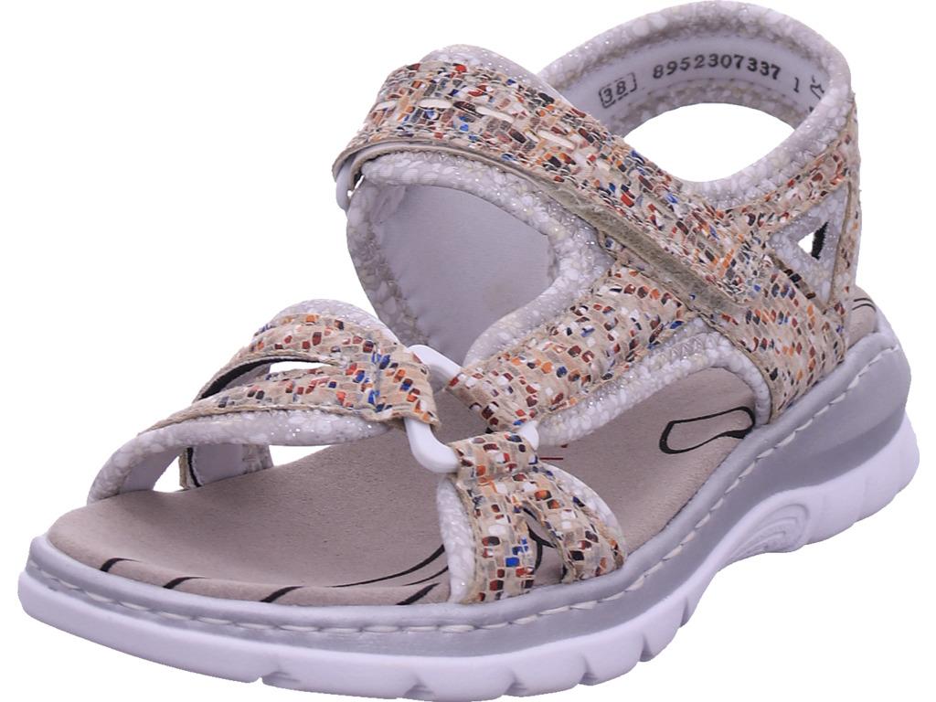 Rieker Damen Sandale Sandalette Sommerschuhe Sonstige 66979 90