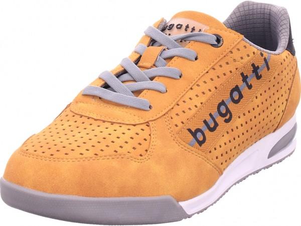Bugatti Herren Schnürschuh Halbschuh sportlich Sneaker gelb 321A380150005000