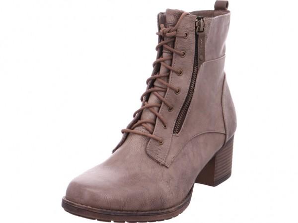 Mustang Damen Stiefel Schnürer Boots Stiefelette zum schnüren braun 1197502