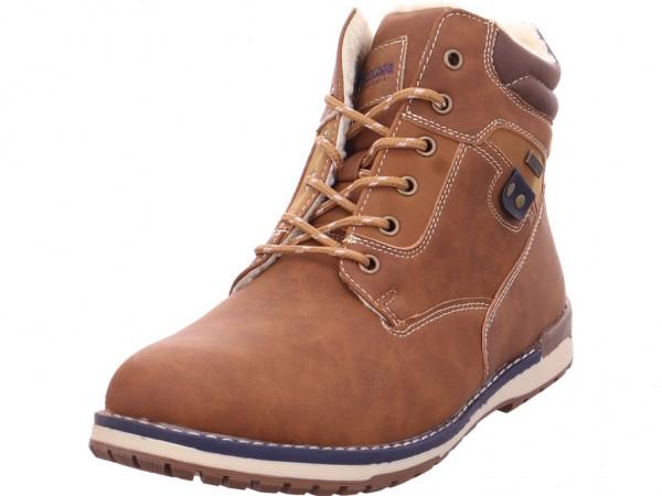 Montega Herren Stiefel Schnürstiefel warm sportlich Boots braun 1014605-10902
