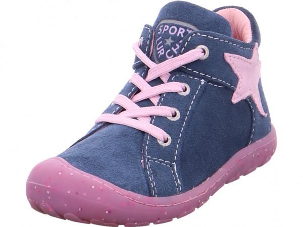 Lurchi Goldy,jeans rose Mädchen Stiefel blau 33-14442-42