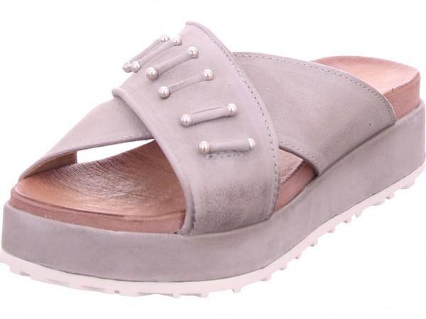 Mjus Damen Pantolette Sandalen Hausschuhe Clogs Slipper grau M06022-0201-6481