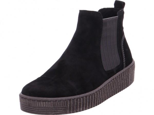 Gabor Damen Stiefel Stiefelette Boots elegant schwarz 93.731.17