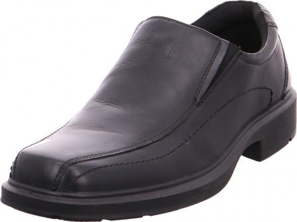 Quick-Schuh Slipper - Sportboden Schnürschuh Halbschuh sportlich Sneaker schwarz A-7404-Black