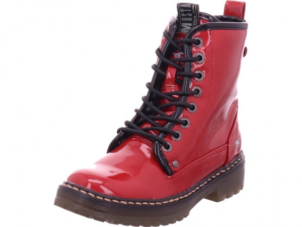 Mustang Mädchen Stiefel rot 5058603-5