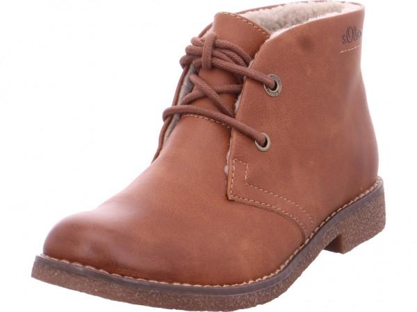 s.Oliver Damen Winter Stiefel Boots Stiefelette warm Schnürer braun 5-5-26111-21/305-305