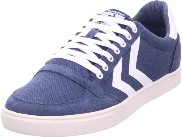 Hummel,hein Slimmer Stadil Mono Herren Sneaker blau 64434