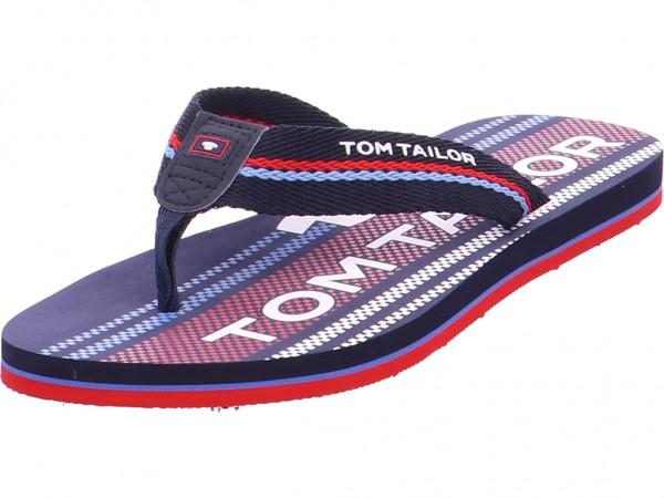 on sale 6417d a15fa Tom Tailor Jungen Pantolette Sandalen Hausschuhe blau 6970303