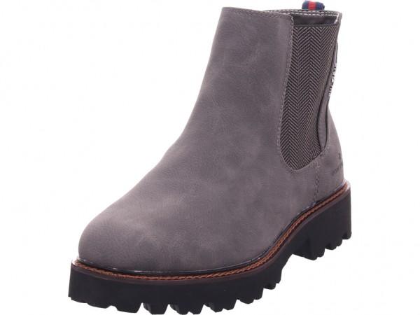Tom Tailor Damen Stiefel Stiefelette Boots elegant grau 7990803
