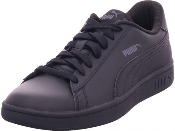 Puma Smash v2L Jr Herren Sneaker schwarz 365170
