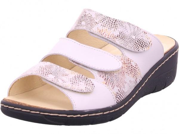 Belvida Damen Pantolette Sandalen Hausschuhe Clogs Slipper weiß 42/215