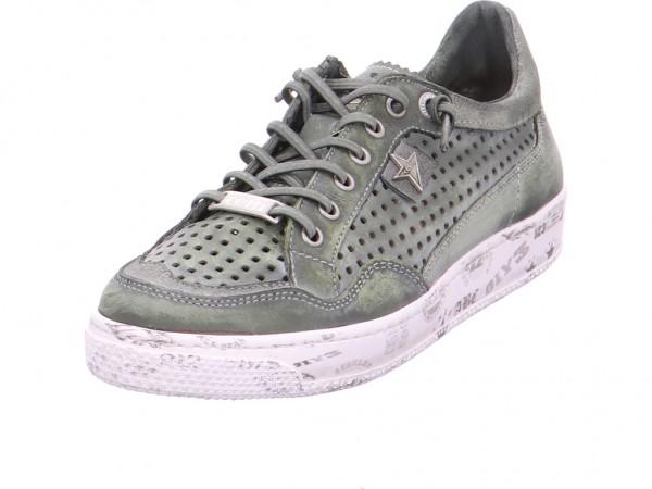 Cetti NATURE TIN WASH KOMBAT Damen Sneaker grün C1181