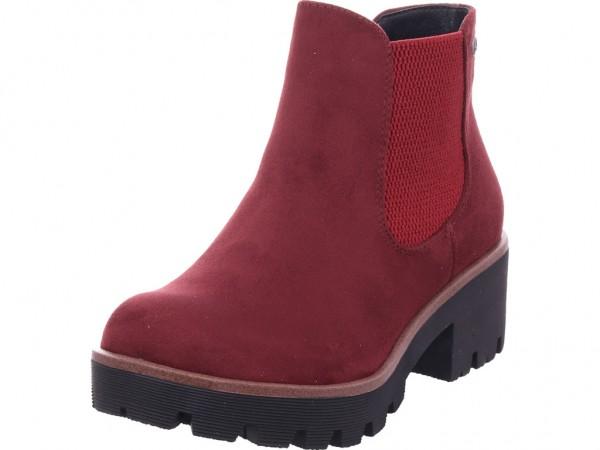 Rieker Damen Stiefel Stiefelette Boots elegant rot 99284-35