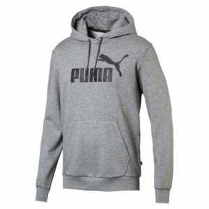 Puma ESS Hoody TR Big Logo Herren grau 851745