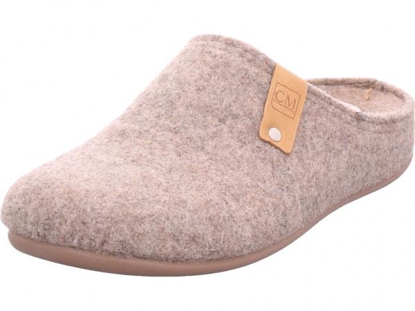 Cima Damen Pantolette Sandalen Hausschuhe beige 6680-0228